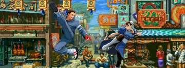 Street Fighter ii The World Warrior Facebook Cover-ups