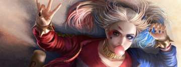 Suicide Squad Harley Quinn Facebook Background TimeLine Cover