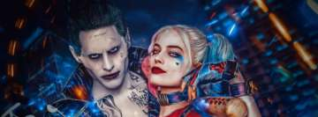 Suicide Squad Harley Quinn Jared Leto Margot Robbie Facebook Background TimeLine Cover