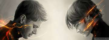 Supernatural Dean Winchester Sam Winchester Facebook Cover Photo