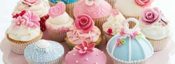 Sweet Cupcakes Facebook Cover-ups