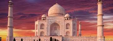 Taj Mahal Facebook cover photo
