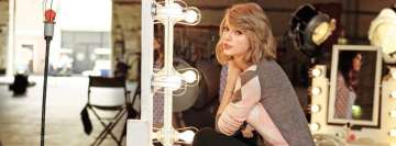 Taylor Swift Ready to Record Facebook Cover Photo
