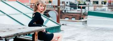 Taylor Swift Singer Facebook cover photo