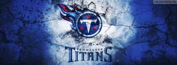 Tennessee Titans Grunged Logo Facebook Cover-ups