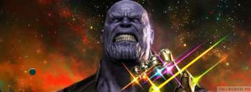 Thanos Avengers Infinity War Facebook Cover