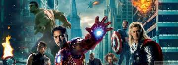 The Avengers Facebook cover photo