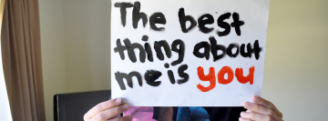 The Best Thing about Me is You Facebook Cover