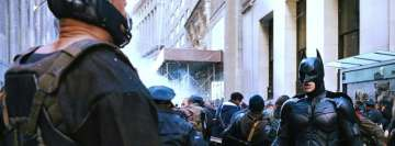 The Dark Knight Rises Scene Facebook Banner