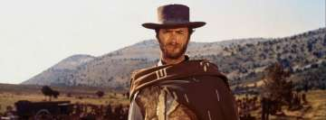 The Good The Bad and The Ugly Clint Eastwood Facebook Wall Image