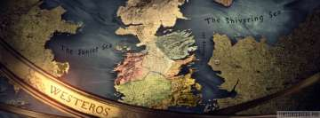The Seven Kingdoms from Game of Thrones