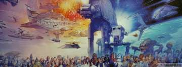 The Star Wars World Facebook cover photo