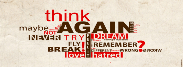 Think Again Facebook Cover