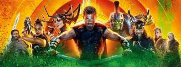 Thor Ragnarok Poster Facebook Background