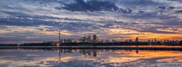 Toronto Canada Cityscape Facebook Cover Photo
