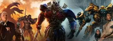 Transformers The Last Knight Poster Facebook Cover