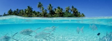 Tropical Island Facebook cover photo