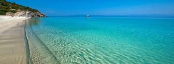 Turquoise Coast of Greece Beach Facebook Wall Image