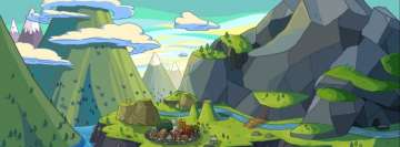 Tv Show Adventure Time Village