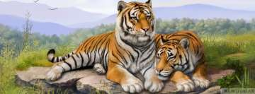 Two Tigers Artwork
