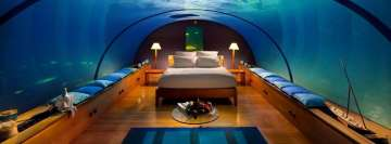 Underwater Hotel Facebook Cover Photo