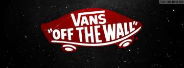 Vans Off The Wall Skate Logo Facebook Cover