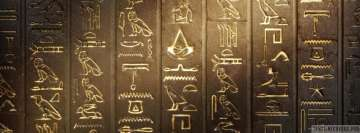 Video Game Assassins Creed Origins Hieroglyphs