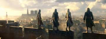 Video Game Assassins Creed Unity Facebook Background
