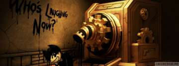 Video Game Bendy and The Ink Machine Facebook Cover Photo