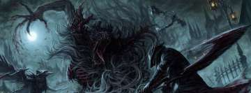 Video Game Bloodborne Facebook Cover