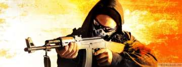 Video Game Counter Strike Global Offensive Machine Gun