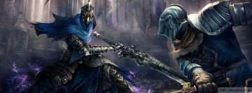 Video Game Dark Souls Artorias of The Abyss Duel Facebook Wall Image