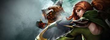 Video Game Dota 2 Heroes Facebook Wall Image