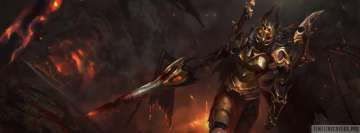 Video Game Dota 2 Legion Commander Facebook Cover Photo