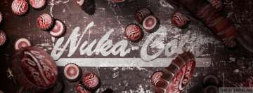 Video Game Fallout Nuka Cola Facebook Background TimeLine Cover