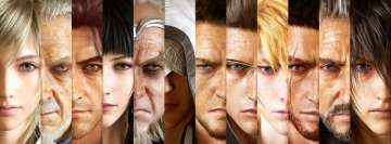 Video Game Final Fantasy Xv Heroes Facebook Banner
