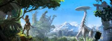 Video Game Horizon Zero Dawn Facebook Wall Image