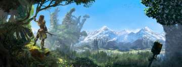 Video Game Horizon Zero Dawn8 Facebook cover photo