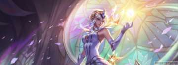 Video Game League of Legends Elementalist Lux Facebook Cover