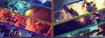 Video Game League of Legends We Carry Facebook cover photo