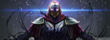 Video Game League of Legends Zed Facebook Banner