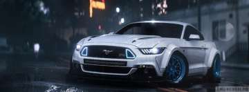Video Game Need for Speed Payback Mustang Facebook Cover Photo