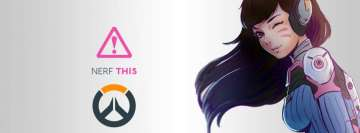 Video Game Overwatch Facebook Cover Photo