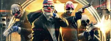 Video Game Payday 2 Facebook Cover Photo
