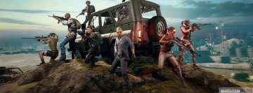 Video Game Playerunknowns Battlegrounds Unit Facebook Cover