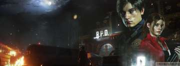 Video Game Resident Evil 2 2019 Fb Cover