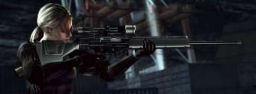 Video Game Resident Evil Sniper Facebook Cover Photo