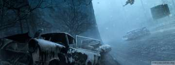Video Game Silent Hill Facebook cover photo
