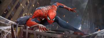 Video Game Spider Man PS4 Fb Cover