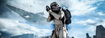 Video Game Star Wars Battlefront 2015 Facebook cover photo